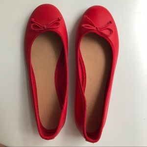 Like New - Red Ballet Slippers